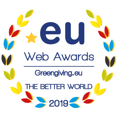 Logo EU Web Awards - Greengiving.eu