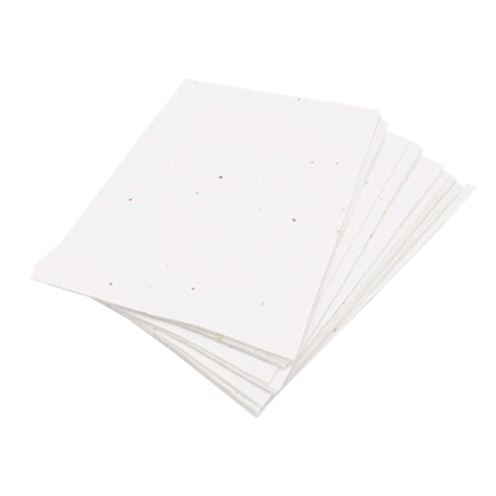 Unprinted Seed Paper