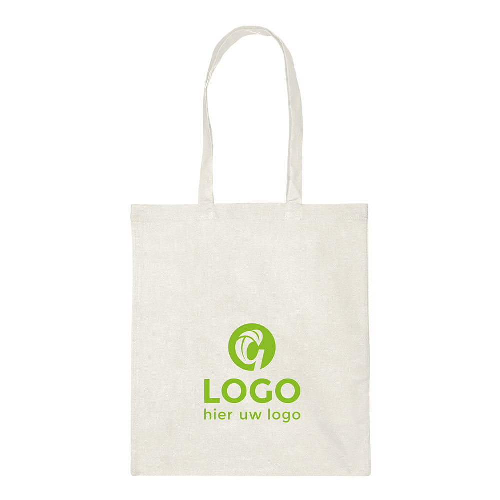 Cotton bags with long handles